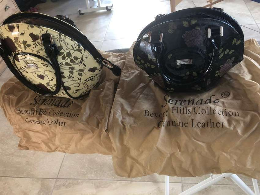 Genuine leather Beverley Hills collection Serenade bags for sale R4000 0