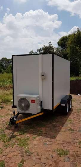 Mobile Freezers and Coldrooms custom built from R34500