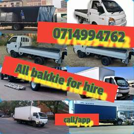 All Bakkie for hire