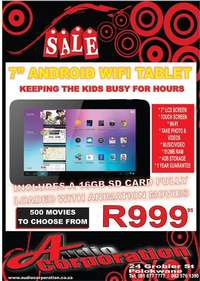 Image of Audio Corp: Tablet for kids The Perfect Xmas Gift