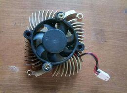 Радіатор з вентилятором 65x55мм
