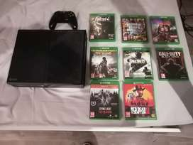 Xbox One 1TB With 13 Games For Sale (GTA V, RDR2, DL, F4, DI, etc)