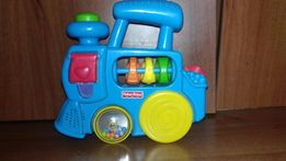 паровоз fisher price