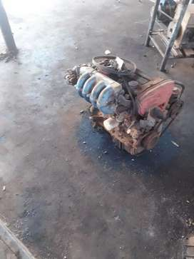 Engine doch and gearbox 323