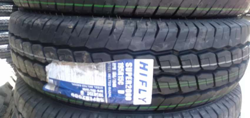 195r15C Hifly tyre's is made in China and the 0