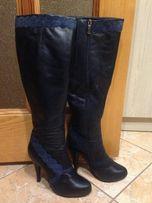 Сапожки кожаные сапоги Miraton Attizare