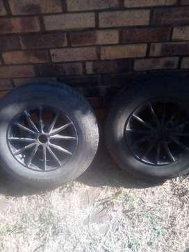 2X Barum Brillantis 2 tyres