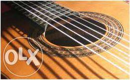Начальное обучение игры на шестиструнной гитаре с нуля.