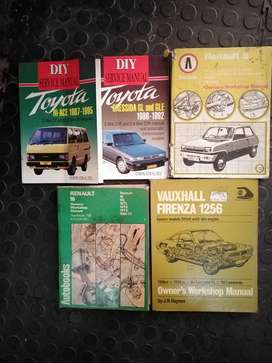 I have car manuals available.