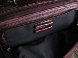 Nowa ekskluzywna niemiecka walizka skórzana Esselte Chivago Frankfurt