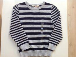 H&M Sweter dla chłopca 110/116 WYPRZEDAŻ!