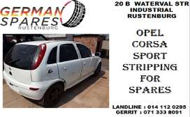 Opel Corsa sport stripping for spares