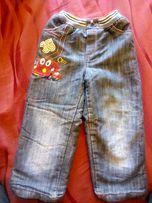 Продам утепленные джинсовые штаны на мальчика