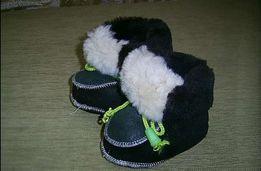 Дитяче Взуття на меху. До 1 року.