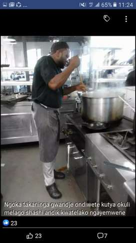 Am looking for a job I have 10years experience as a chef plz