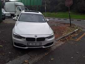 BMW 320d sport diesel 2013 model automatic transmission.