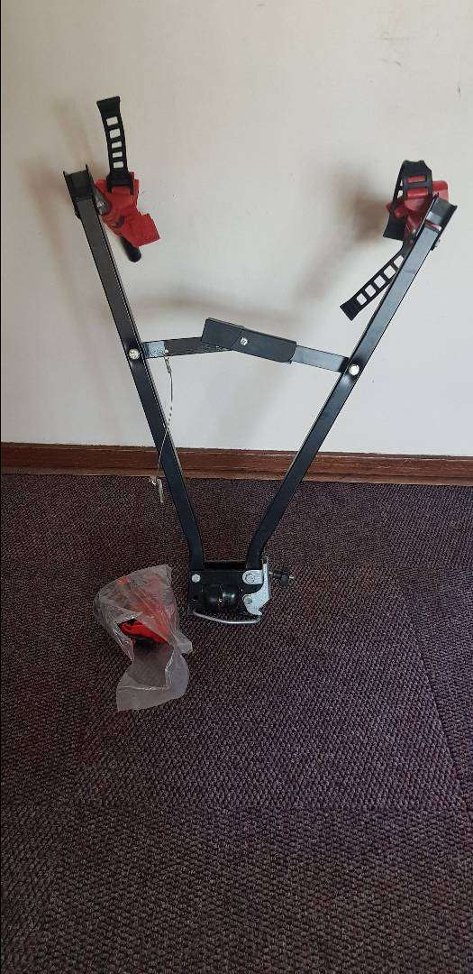 3x Bicycle carrier for towbar 0