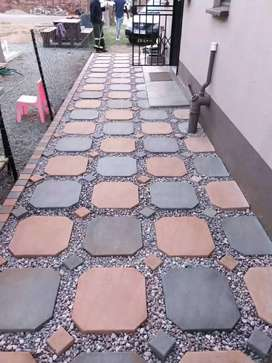 Creative quality brick paving installation and repairs