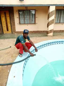 Pools and thatching
