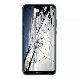Looking for any broken screen Huawei or Iphone