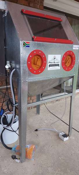 Fabrication of Industrial size  Vapour Blasting cabinets