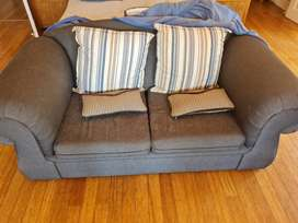 2 seater couch, recently reupholstered at 6000. Urgent sale