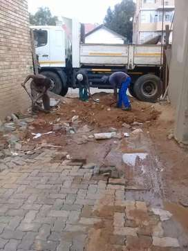 R600 RUBBLE REMOVAL SERVICES BOBCAT HIRE TLB HIRE TIPPER TRUCK HIRE