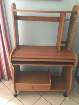 Cabinet for computer and printer