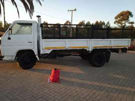 Truck available for hire