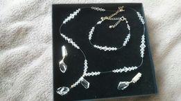 Biżuteria kryształki Swarowskiego