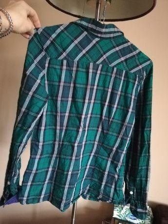 Koszula w kratę H&M rozmiar 34 zielona Ruda Śląska - image 3