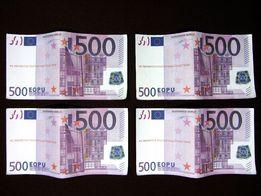 Сувенир купюры 500 EURO