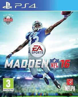 PS4 Madden16 nfl