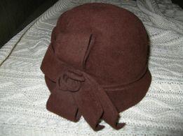 продам фетровую шляпку 58р
