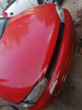 Goodday im selling my Toyota camryred in colour urgently model is 1995