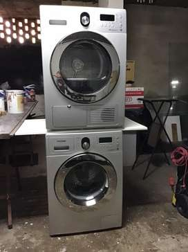 Samsung washing machine and tumble dryer.