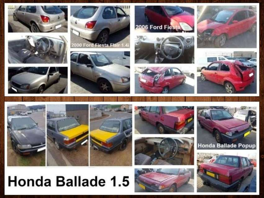 Honda Ballade and Ford Fiesta stripping for spares. 0