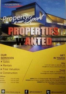 PROPERTIES WANTED IN COSMO CITY. Need to sell your house fast?