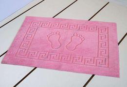 Коврик для ванной 50*70 розовый прорезиненный Турция