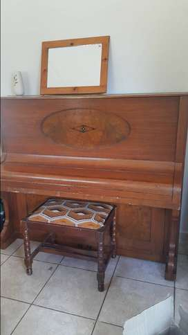 Antique Bach Original Piano
