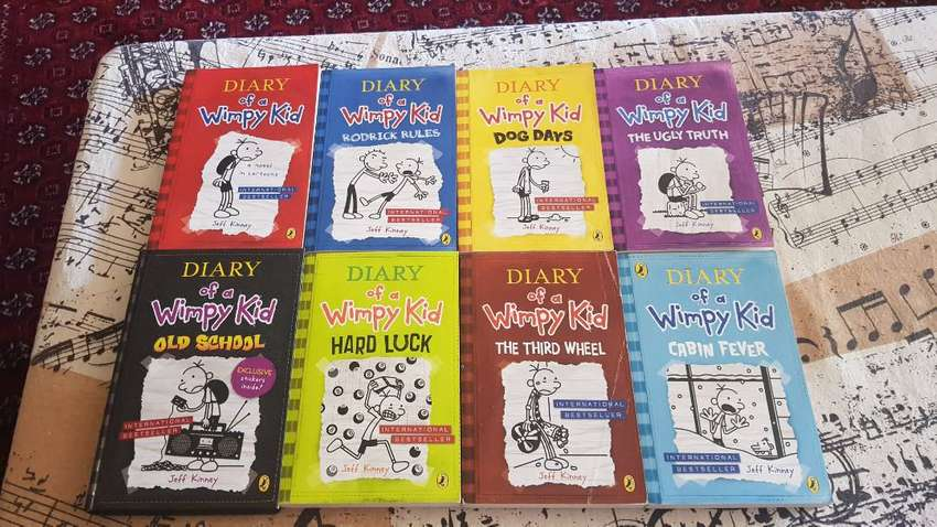 Diary of a Wimpy Kid (8 books)
