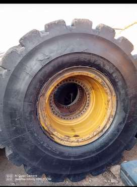 Tyre Earth Mover