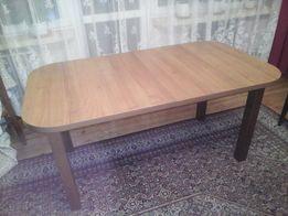 Stół brązowy 160cm po rozłożeniu 200cm