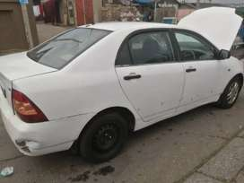Toyota Corolla Runx shape 1.6 3zz engine stripping for spares.