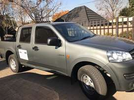 Bakkie Trailer and Driver