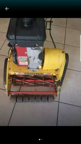 Roller cylindrical mower