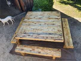 8 seater table very strong
