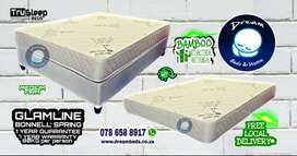 BAMBOO Beds and Mattresses with FREE DELIVERY