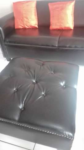 Couches plether good condition
