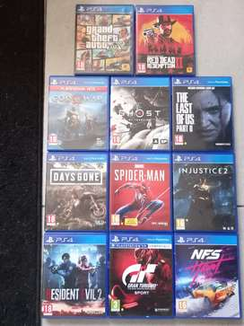 PS4 Games. Mint condition